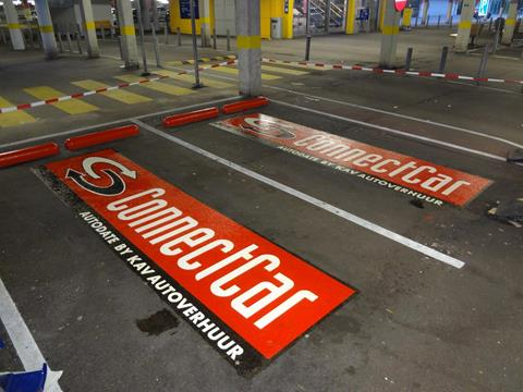 Logo-parkeerplaats