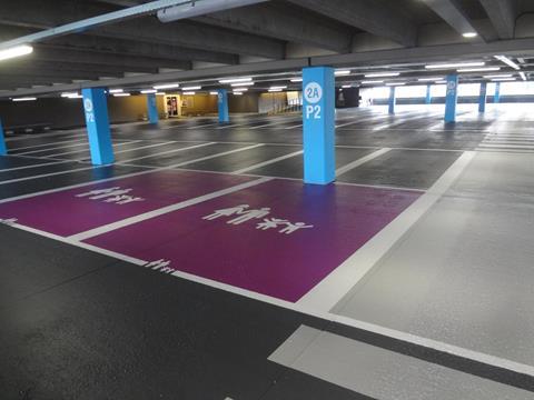 Parkeerdek-coating