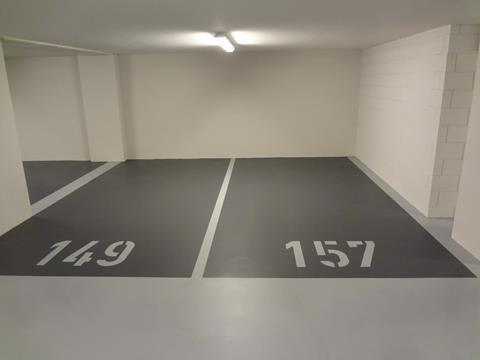Parkeergarage-belijning-parkeervak