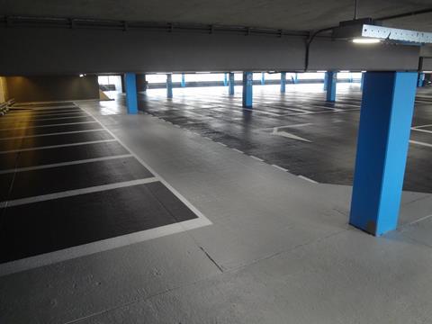 Parkeergarage-coating