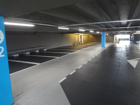 Parkeervloer-coating